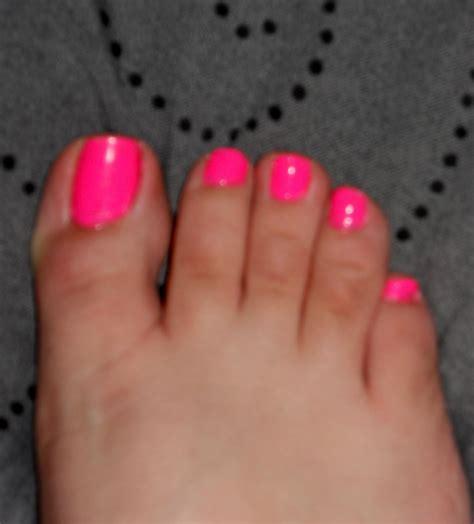 toe colors purrceptivevixxen sinful colors pink toes