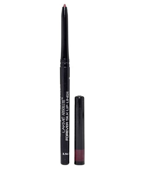 Lip Liner Silky compare lakme absolute forever silk lip liner merlot 0 35g price india comparometer