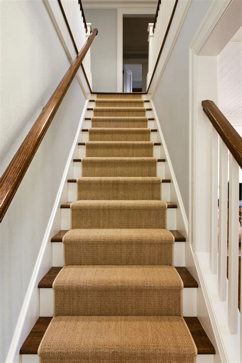Which Carpet For Stairs - benefits of installing stair runner rods at your stair