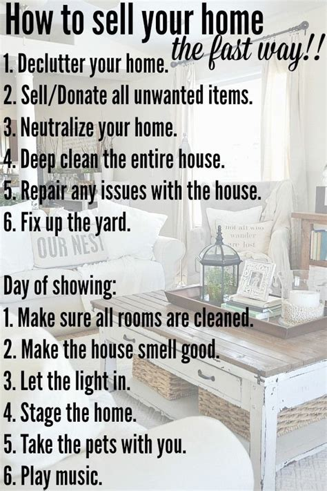 how to sell your house fast 9 tips to get the most from 41 best images about selling your home on pinterest