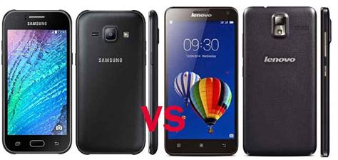 Hp Samsung Galaxy Low End samsung galaxy j1 vs lenovo s580 adu kemuan smartphone