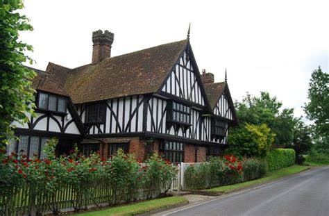 English Tudor Houses by File A Tudor House Tudeley Hale Geograph Org Uk