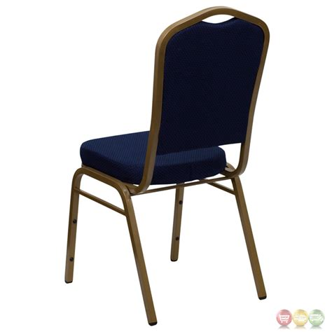 hercules stacking banquet chairs hercules crown back stacking banquet chair w navy blue