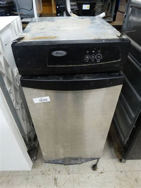 how does a trash compactor work whirlpool stainless steel trash compactor works north