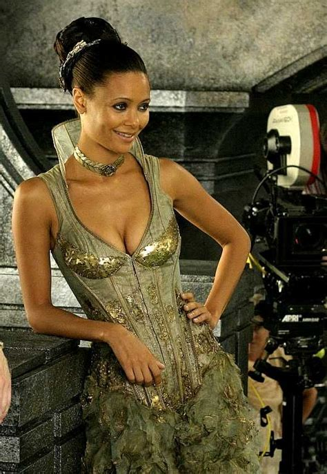 More Pics From Karl Lagerfelds Minogue Thandie Newton And Co by 24 Best Riddick Images On Thandie Newton Vin