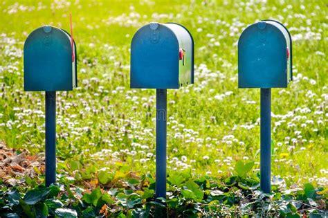 cassette della posta americane vecchie cassette postali americane in midwest fotografia