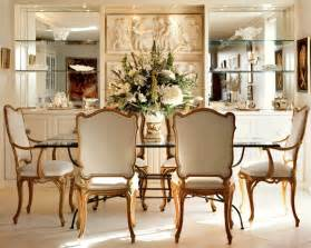 Dining Room Decor by Elegant Beautiful Flower With Classic Dining Room Decor