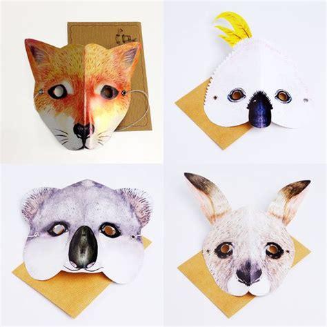 printable possum mask animals animal masks and felt on pinterest
