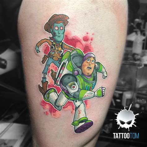 toy story tattoo portfolio tom the rising tide