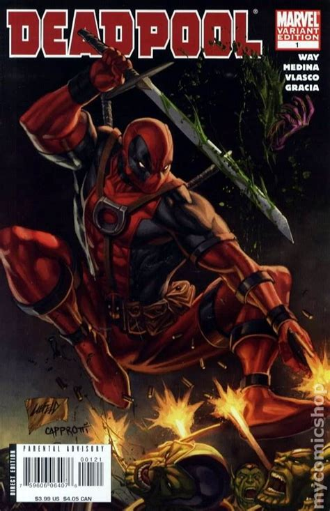 Ghost Writer Movie deadpool 2008 2nd series comic books