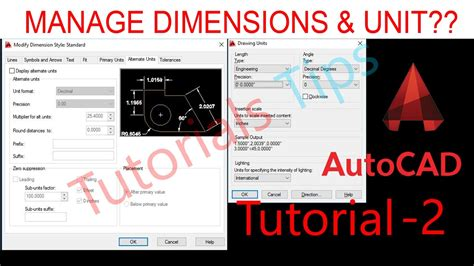 autocad tutorial hindi autocad tutorial hindi how to set dimension in autocad