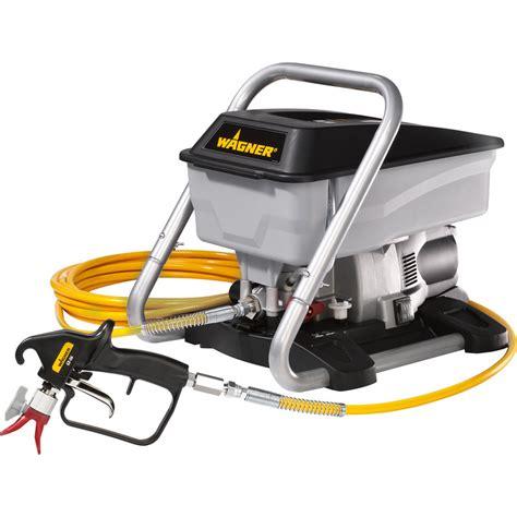 spray painter wagner wagner airless sprayer plus 240v toolstation