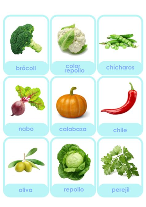 vegetables en ingles flashcards fruits and vegetables in russian and
