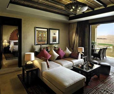 living room suit abu dhabi desert resort qasr al sarab desert resort by