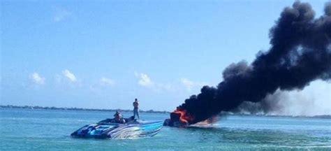 catamaran boat yard fire key largo fueling the fire