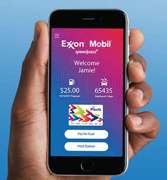 exxon mobile app earn 20 gas with exxon mobil speedpass app