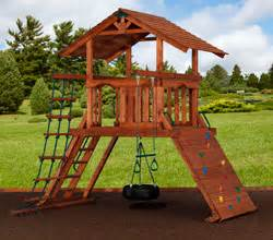 play structures for any yard size traditional san francisco by terra kids outdoor
