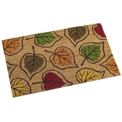 leaf pattern doormat 17 best images about pier 1 cool stuff on pinterest