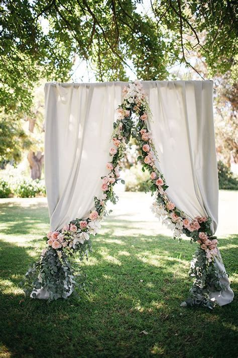 diy wedding drapery 40 elegant ways to decorate your wedding with floral