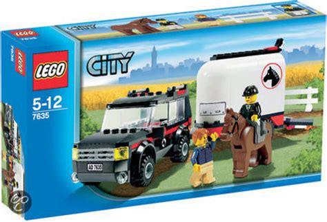 lego city jeep bol com lego city jeep met paardentrailer 7635 lego