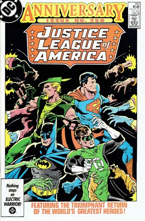 justice league of america b071vwh4kk justice league of america 250 the return of the justice league of america issue