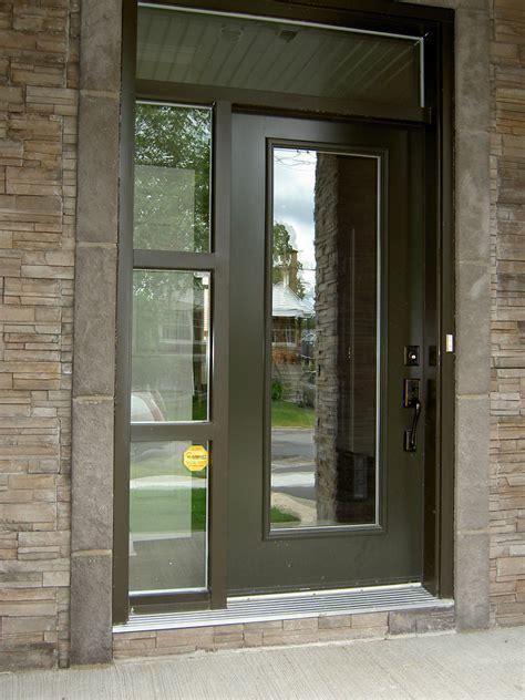 Front Door Privacy Door Installation