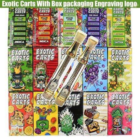 engraving exotic carts vape cbd thc hemp oil