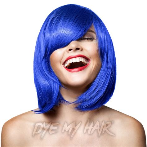 Manic Panic Nyc Semi Permanent Hair Color Bad Boy Blue Classic manic panic bad boy blue semi permanent hair dye lified color