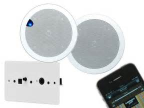airway 6 5 quot ceiling speaker system for bathroom and