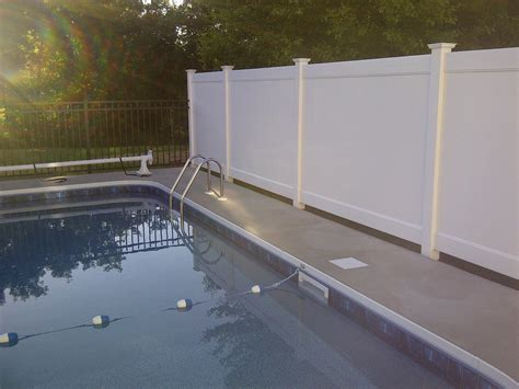 privacy pool fencing 28 images we provide safety and privacy with our fencing in ilion ny