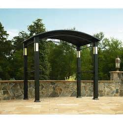Outdoor Grill Canopy by Outdoor Gazebo Canopy Bbq Grill Pro Shelter Integrated