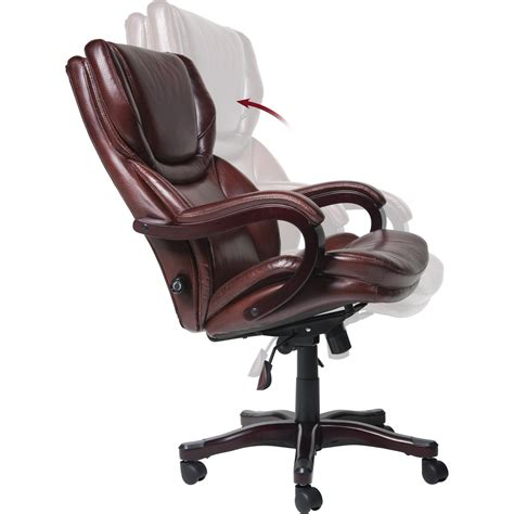 Big And Executive Office Chairs by Serta At Home 43506 Big And Eco Friendly Bonded