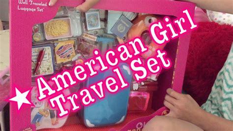 Travel Set For Doll american doll travel set