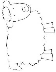 sheep coloring page sheep