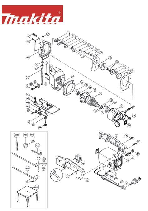 Jig Saw Makita Mod 4300bv buy makita 4300bv jig replacement tool parts makita