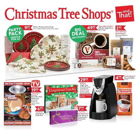christmas tree shops black friday 2017 ads deals and sales