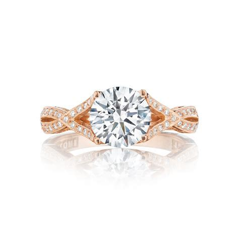 Diamond center Engagement Ring   DK Gems