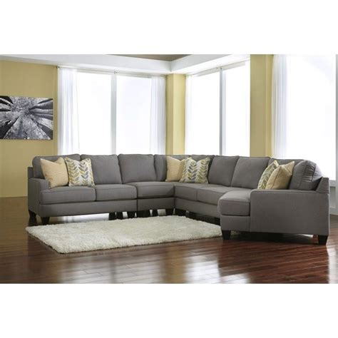 5 piece sectional couch signature design by ashley furniture chamberly 5 piece
