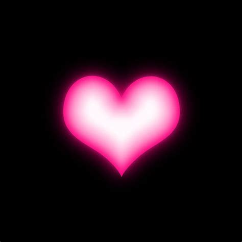 black pink heart shiny pink heart on black background iphone 7 snap