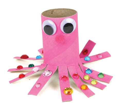 Pink Craft Paper - pink octopus paper craft roll crafts direct