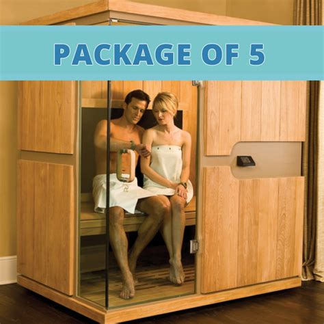 Detox Box Infrared Sauna For Sale by Infared Sauna Package Of 5 Cleansing Concepts Colon