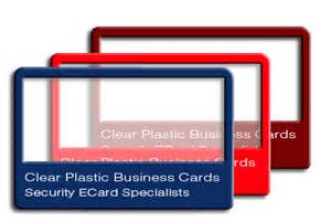 plastic business cards los angeles clear plastic business cards printing