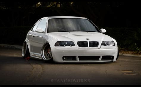 stanced cars iphone wallpaper bmw m3 e46 stanced image 199