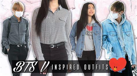 kim taehyung clothes bts v inspired outfits kim taehyung airport fashion