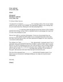 Recommendation Letter For Headteacher Letter Of Recommendation Hashdoc