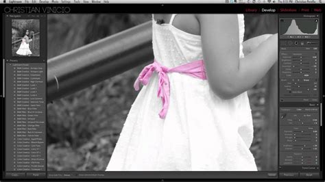 adding black to a color adding color to black and white photos in lightroom