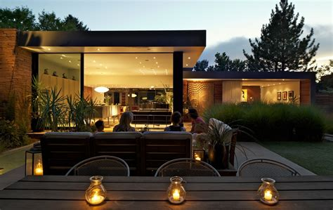 Patio Lighting Ideas Gallery Cool Outdoor Lighting Ideas Decorating Ideas Gallery In Patio Midcentury Design Ideas
