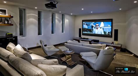 home theatre design los angeles dj avicii hollywood hills party mansion