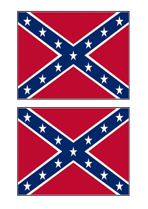 confederate rebel flag stickers