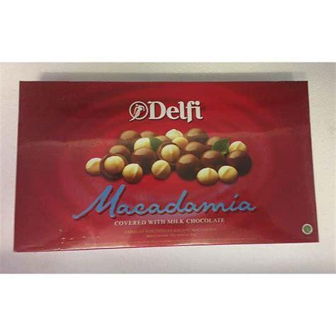 Delfi Cacao delfi macadamia chocolate 180g khasert